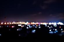 ピンぼけ夜景