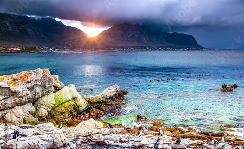 Photographie Amazing view of a bay