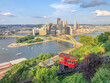 aerial view Pittsburgh city
