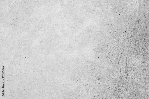 Fototapeta Modern grey paint limestone texture background in white light seam home wall paper. Back flat subway concrete stone table floor concept surreal granite quarry stucco surface background grunge pattern. obraz