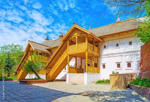 Slika na platnu The medieval residence of russian boyars, Moscow