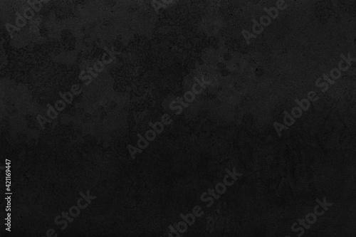 Fototapeta Dark grey black slate background or texture. Black granite slabs background obraz