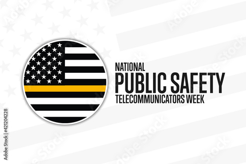 Tablou Canvas National Public Safety Telecommunicators Week