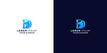 Letter D And Dog Logo Design