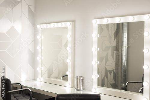 Fotografija Mirrors with bulbs