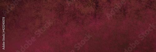 Fototapeta Grunge old burgundy red distressed background, abstract ground textured background obraz