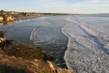 California Coast Pismo Beach From A Cliff