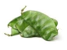 Fresh Hyacinth Bean Stock Photo