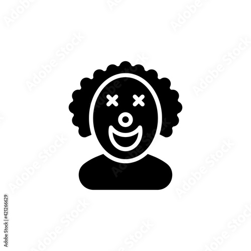 Fototapeta Joker icon in vector. Logotype