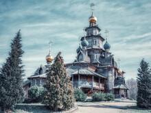 Wooden Russian-orthodox Church