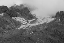 Clouds Over The Glaciers.