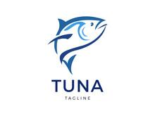 Tuna Vector Logo Template Design