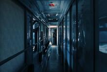 Interior Of A Train To Baku