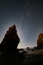 Moonset Over El Matador
