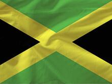 Full Frame Shot Of Jamaican Flag