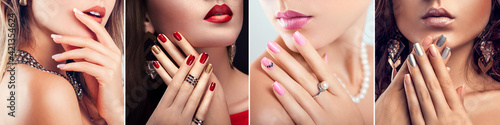 Fototapeta Nail art and design