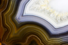 Banded Agate Close-up
