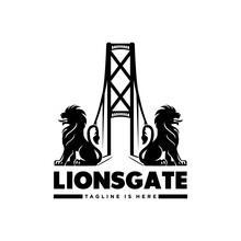 Lions Gate Logo Design Modern Templates