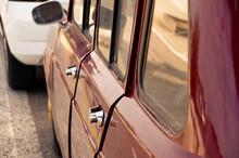 Close-up Of Car Window