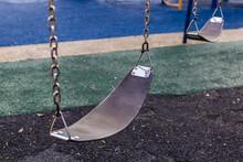 Children Playground On Yard Activities In Public Park