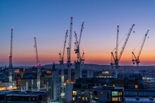 Cranes Over Edinburgh City