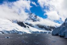 Icebergs In Antarctica Continent