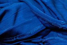 Full Frame Shot Of Blue Umbrella