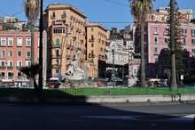 Napoli – Fontana Della Sirena A Piazza Sannazzaro