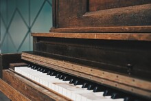 Outdoor Piano Keys