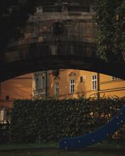 Playground Under The Charle's Bridge