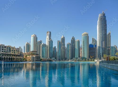 Tela Burj Khalifa park in Dubai