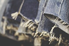 Close-up Of Jeans Pants.