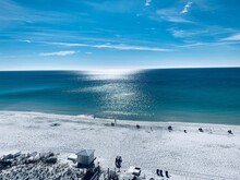 A Relax View Of The Emerald Coast.