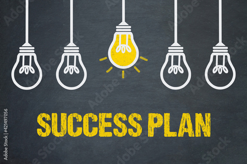 Success Plan Wallpaper Mural