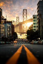 Bridge View In San Francisco