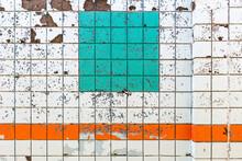 Full Frame Shot Of Crumbling Concrete Wall