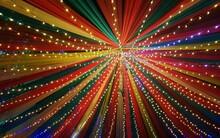 Full Frame Shot Of Illuminated Light Trails
