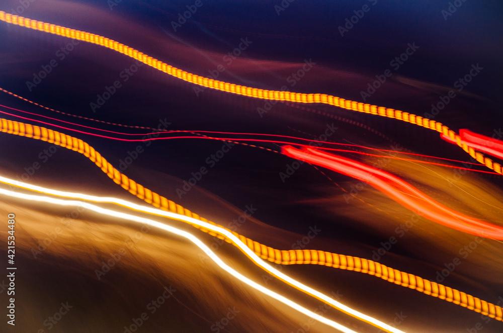 Fototapeta Ilustracja, światła, barwa