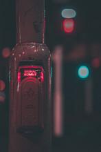 Close-up Of Illuminated Traffic Light