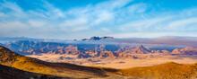Morning Panoramic View Towards Ausenkehr, In The Richtersveld Transfrontier National Park