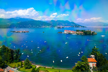 From Stresa There Is A Cable Car And Chair Lift Up To The Top Of Monte Mottarone Of 1,491 Metres Above Lake  Maggiore.There Is A  Stop At An  Alpine Garden Half Way Up The Mountain With Terrific Views