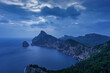 canvas print picture - Blick auf die kleine Insel Illot d es Colomer, Cap de Formentor, Kap Formentor, Mallorca, Balearen, Spanien, Europa