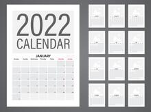 2022 Vector Calendar