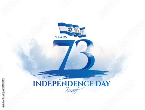 Israel vector illustration Fototapeta