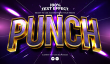 Punch Editable Text Effect
