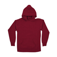 Add Your Logo Or Design To This Front Perspective View Fabulous Hoodie Mockup In Red Bud Color, It Will Become More Real