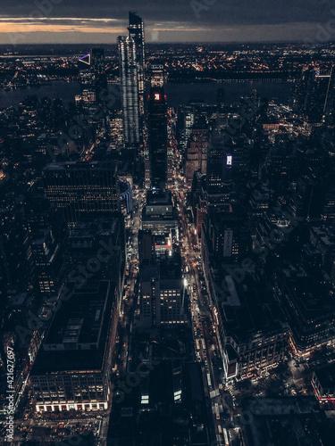 Obraz City Lights - fototapety do salonu