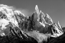 Dramatic Mountain With A Narrow Summit Named Cerro Torre