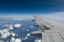 Wing On Airplane