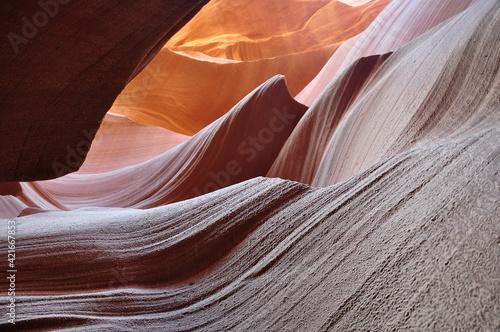 Fototapeta Rock Formations In A Desert